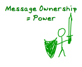 message ownership