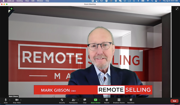 Mark Gibson remote selling mastery