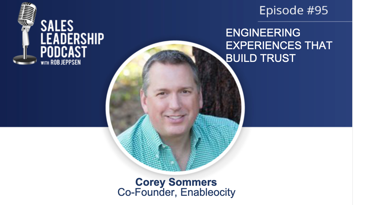 corey sommers sales leadership podcast